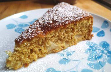 torta semintegrale di pere