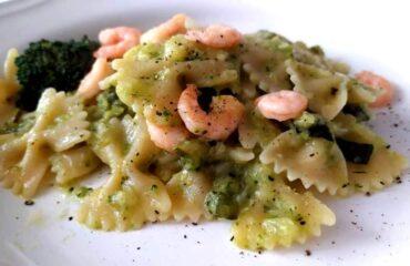 pasta con broccoli e zucchine