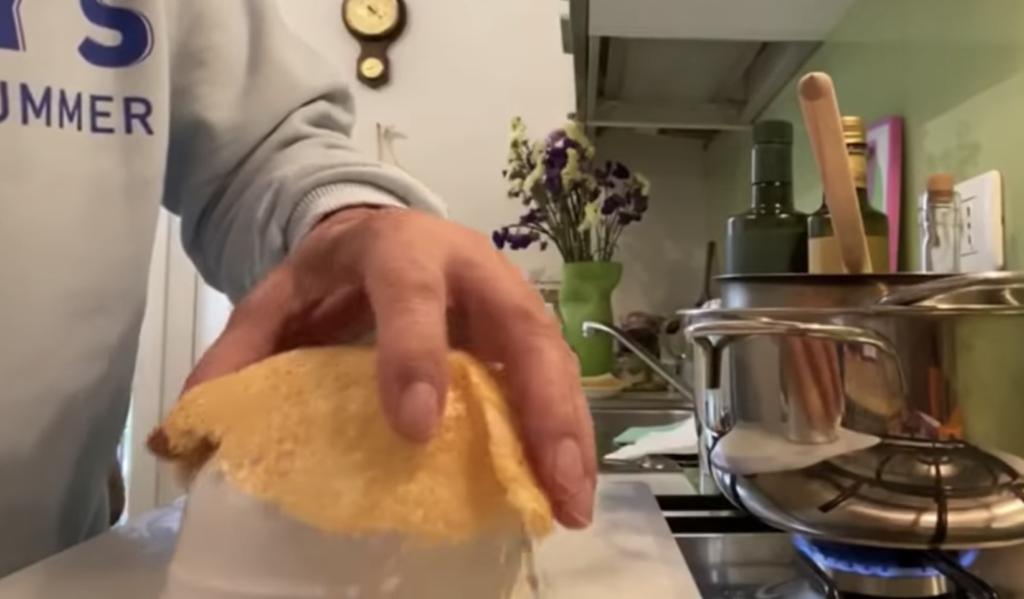 Pasta ai 4 formaggi di Bruno Barbieri