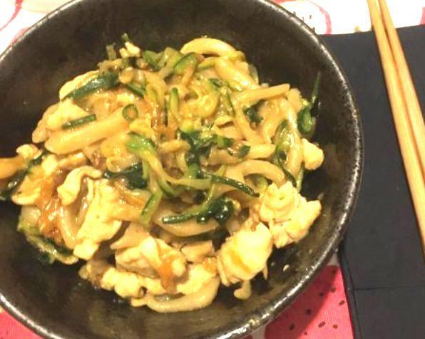 Noodles in padella