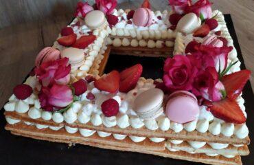 Cream tarte millefoglie