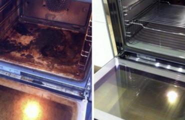 magia per pulire il forno