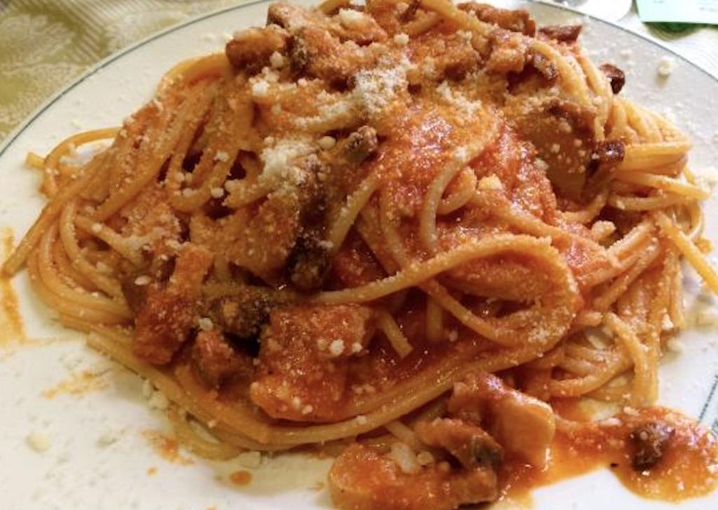 Spaghetti alla Amatriciana piuricette.it