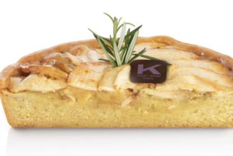 La crostata con crema speciale alle mele di Knam, il segreto del grande maestro per una pasta frolla alta e soffice