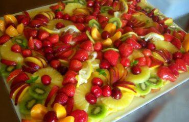 Torta esplosione di frutta