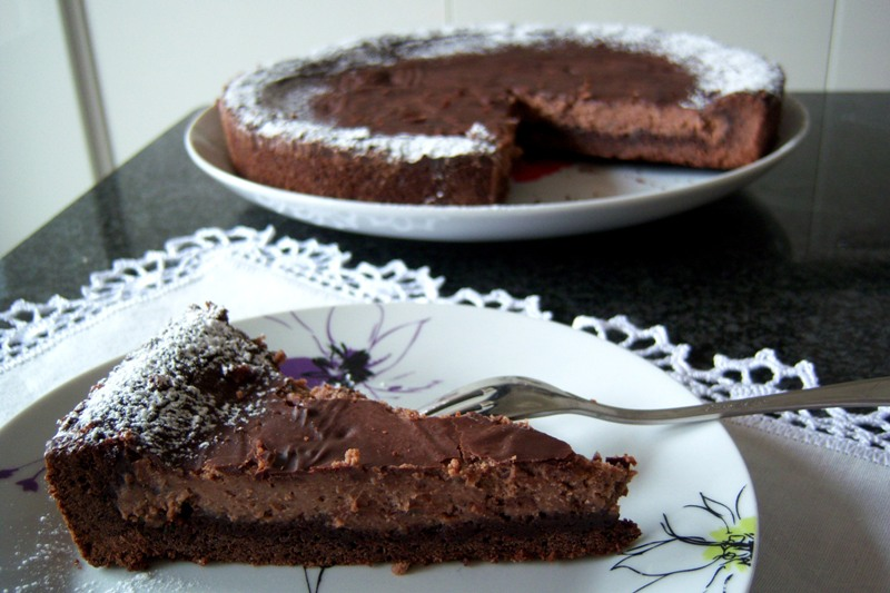 Crostata tutto cioccolato