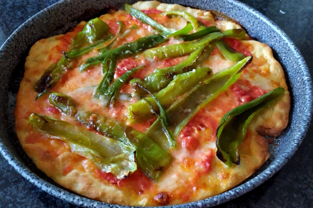 Pizza peperoncina
