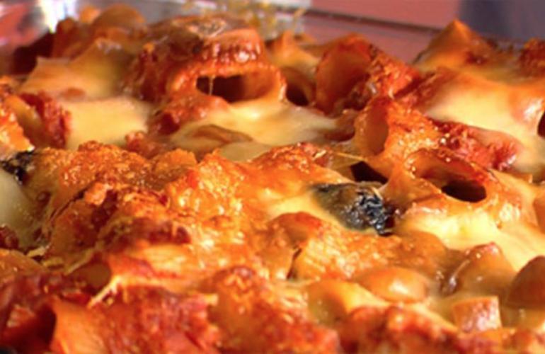 Pasta al forno di Gualtiero Marchesi, Lo chef svela il trucco del grattato per farla croccante fuori e mai secca dentro