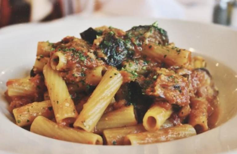 Ingredienti dei Rigatoni alla siciliana