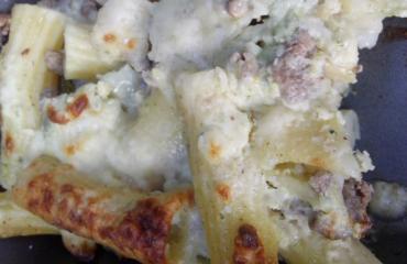 La Pasta pasticciosa di Borghese, super cremosa e golosa per una domenica speciale