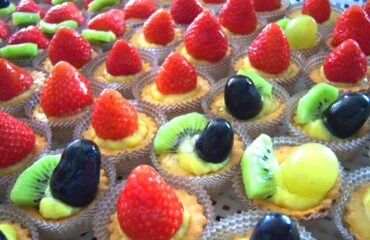 Crostatine di frutta fresca