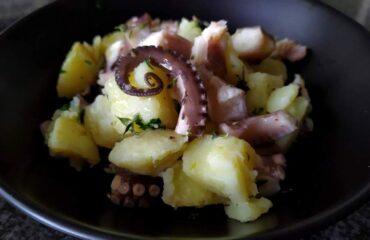 Insalata di polpo con patate