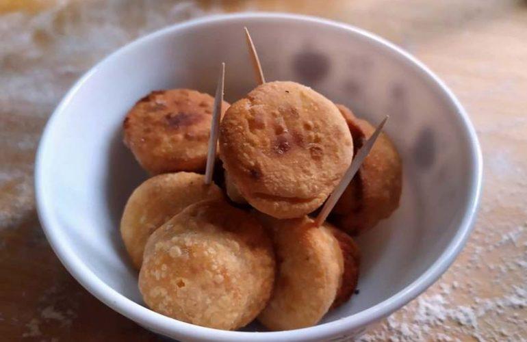 Anolini parmigiani fritti