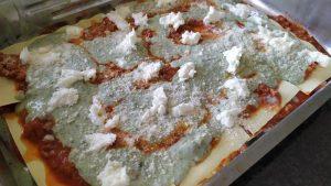 Lasagne al forno light