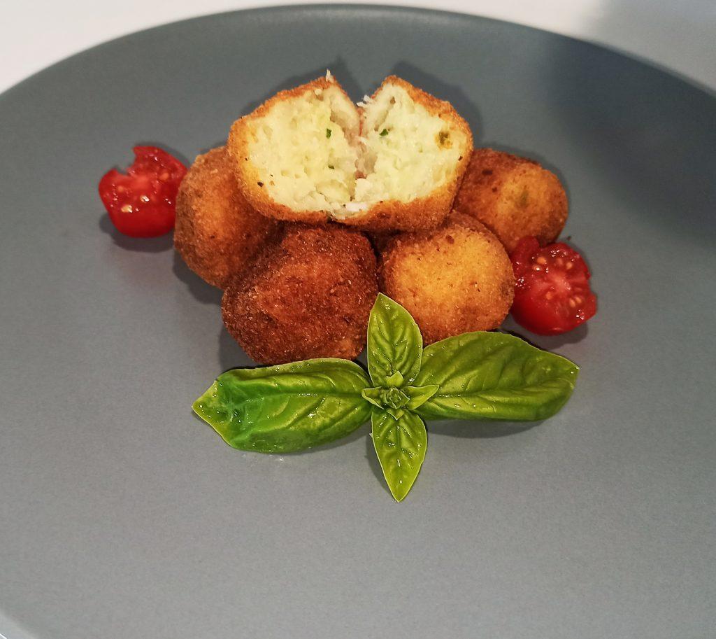Polpettine di patate e baccalà